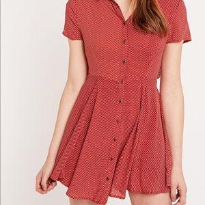 Urban Outfitters fairuza polka dot mini dress